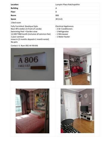 condominium-for-rent-lumpini-place-ratchayothin